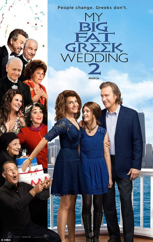 My Big Fat Greek Wedding 2 (2016) (2019)