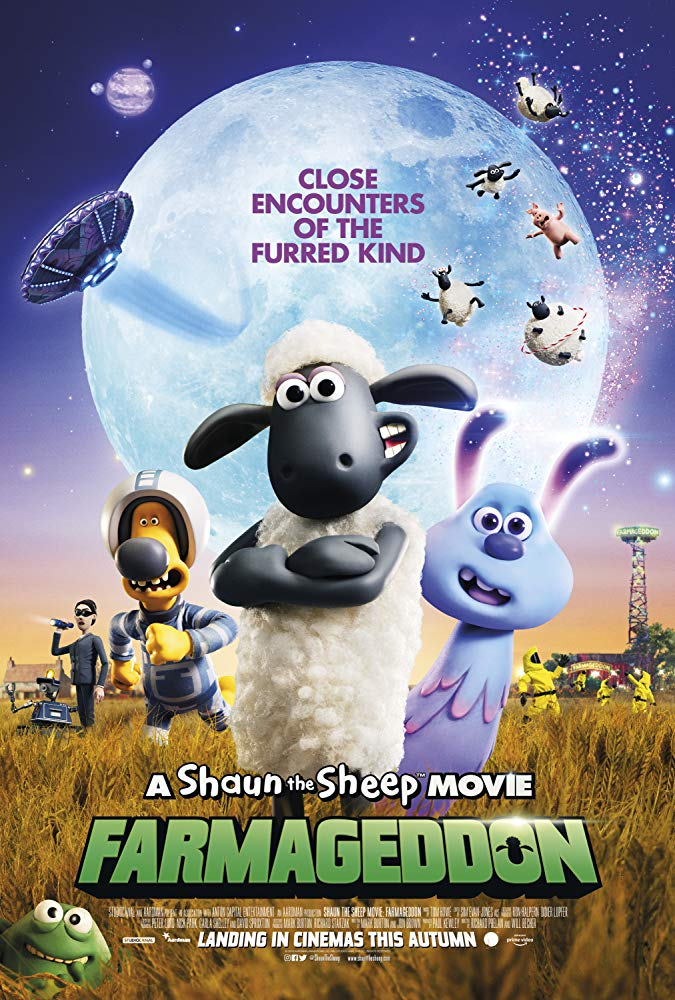 A Shaun the Sheep Movie Farmageddon (2019) (2020)