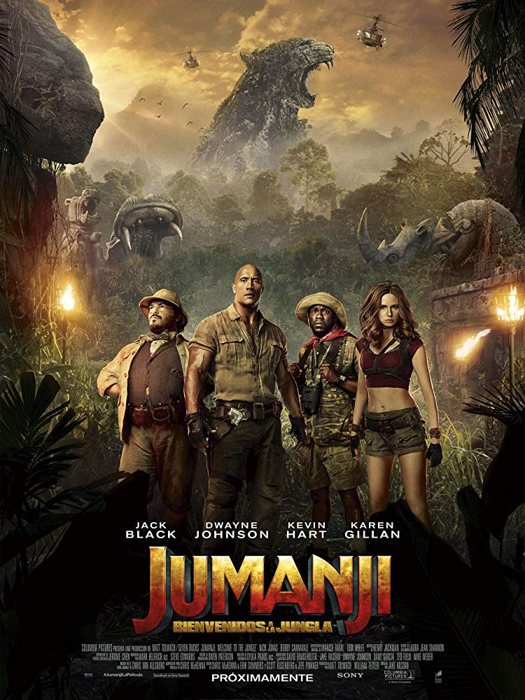 Jumanji The Next Level (2019) (2020)