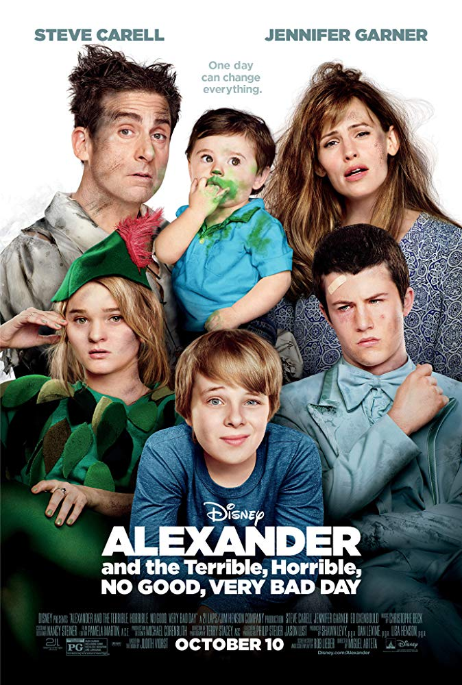 Alexander and the Terrible, Horrible, No Good, Very Bad Day (2014) (2020)